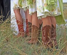 *cowgirl boots*
