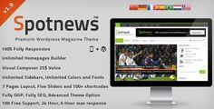Spotnews - Responsive WordPress News,Magazine (Blog / Magazine)