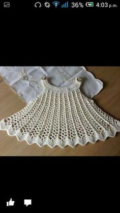 "رخ ""Crochet Baby Dress Swing Dress Tunic … by PatternParadise"", ""Swing Dress Dress or Top Pattern - via baby dress"", ""Looking for a crocheting patter Crochet Baby Dress Pattern, Baby Girl Crochet, Crochet Baby Clothes, Crochet For Kids, Free Crochet, Knit Crochet, Crochet Baby Dresses, Crochet Gratis, Crochet Toddler"
