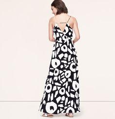 maxi dress loft 42