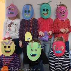 Lolo und Theo: Die Monster sind los – ein Monstergeburtstag mit Piñata