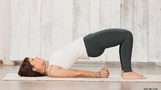 Bridge Pose. Bridge Pose can be whatever you need—energizing, rejuvenating, or luxuriously restorative.