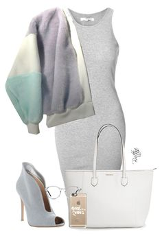 """""""Untitled #24"""" by cashbrittani on Polyvore featuring Glamorous, Gianvito Rossi, GlassesUSA and Casetify"""