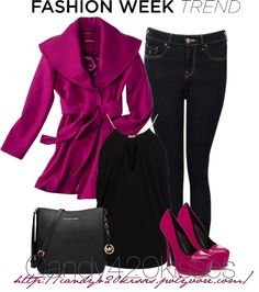 """Fashion Week Trend: Bright coats for all contest"" by candy420kisses ❤ liked on Polyvore"