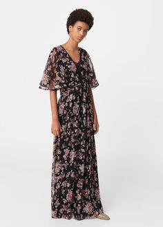 ff52be76888 Printed chiffon dress - Women