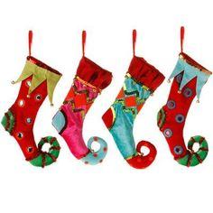 20 DIY Christmas Stockings to Hang on the Mantel | Diy christmas ...