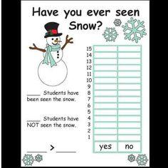 Kindergarten Christmas/Winter Science Activities product from Kindergarten-Supplies on TeachersNotebook.com