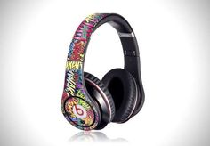 The Beats by Dr. Dre Gelaskins Add Personality to Your Gear #runningaccessories #jogging trendhunter.com
