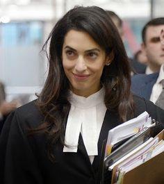 cotibluemos: Amal Clooney cambia Hollywood por Estrasburgo
