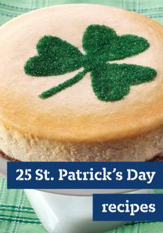 25 St. Patrick's Day Recipes – You'll feel extra lucky this St. Patrick's Day when you make some of Ireland's favorite hearty recipes.