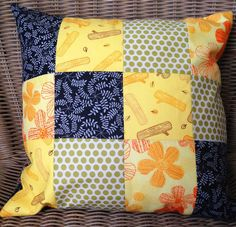 KBB Crafts & Stitches: Fall Patchwork Pillow