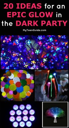I have been looking for a way to help a friend celebrate her birthday, and we just came up with the most amazing idea for a glow in the dark party! What better way to celebrate my friends sweet 16 then with all her closest friends surrounding her glowing Neon Birthday, Birthday Party For Teens, Sweet 16 Birthday, Birthday Party Decorations, 16th Birthday, Birthday Ideas, Birthday Nails, Glow Party Decorations, Birthday Celebration