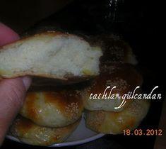 TATLILAR GÜLCANDAN: Patatesli sünger poğaça Food And Drink, Chicken, Pizza, Brot, Cubs