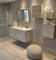 douche litalienne carrelage effet parquet effet bton salles de bainsdouche - Carrelage Salle De Bain Douche Italienne