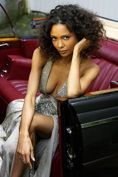 Thandie...I think my hair is this length, but it refuses to look like this.