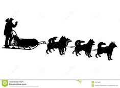 dog sled silhouette pinterest dog clip art and cricut rh pinterest com dog sled clip art scenes Dog Sled Clipartt