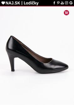 Klasické čierne lodičky VINCEZA Kitten Heels, Platform, Shoes, Fashion, Moda, Zapatos, Shoes Outlet, Fashion Styles, Shoe