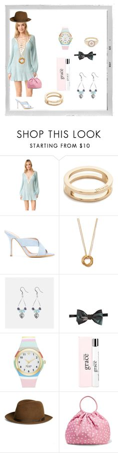 """Barbie's"" by ramakumari ❤ liked on Polyvore featuring Polaroid, Eberjey, MIANSAI, ALEXA WAGNER, Maya Magal, Avenue, Mani del Sud, Kate Spade, philosophy and Brooks Brothers"