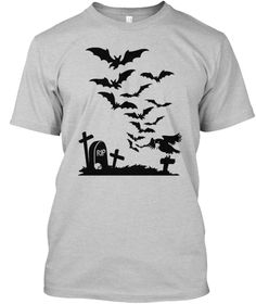 Halloween Tshirt  Light Steel T-Shirt Front