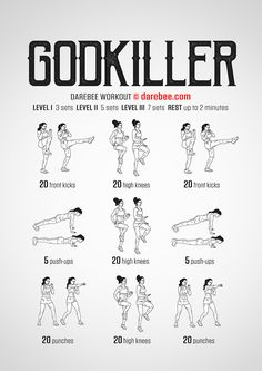 Godkiller Workout | Posted By: AdvancedWeightLosstips.com