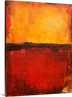 Tuscan of Dawn by Erin Ashley Painting Print on Canvas