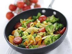 Ricetta Misto di verdure spadellate | Donna Moderna