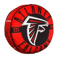 This super comfy Travel Cloud Pillow from The Northwest Company is the perfect item to add to your collection of fan gear. Atlanta Falcons Helmet, Football Team Logos, Cloud Pillow, Color Rush, Mascot Design, Fan Gear, Nfl, Clouds, Pillows