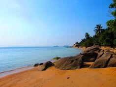Побережье Море Небо Таиланд Пляж Песок Koh Samui Природа