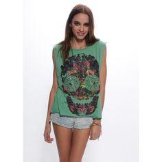 Cool graphic shirt!