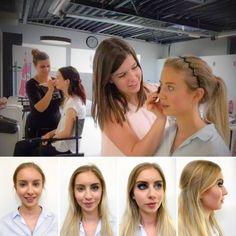 Eindelijk een mooi zomerweekend en waar zit Magali?  Inhouse in opleiding bij Blush Academy. Vandaag traint ze tot in de perfectie haar skills voor een geslaagde dag- en avondmake-up met de mooiste smokey eyes.  En dat demonstreert ze graag. Ook aan jou! Best boek je daarom eens een Make-up scan. >>> http://www.pure-skin.be/pure-make-up/make-up-scan