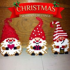 Christmas hama beads by lemondededidine