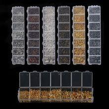 1450 шт./лот Многоцветный Mix Размер Открыть Перейти Кольца Серебряные Позолоченные Ссылка Loop DIY Ювелирных Изделий Разъем Творческий СДЕЛАЙ САМ F2973(China (Mainland))