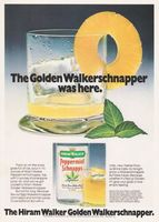 Hiram Walker Peppermint Schnapps 1978 Ad Picture