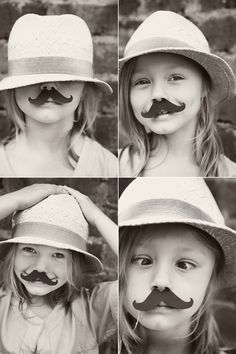 so doing this with my girl! #mustache
