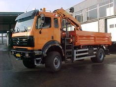 Mercedes 2024 AK 4x4 tribenne avec grue - 3-way tipper with crane