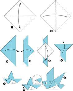 оригами птицы - Поиск в Google