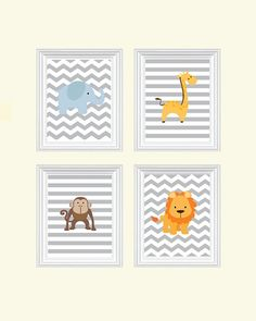 """Globetrotting Mommy - Dreaming of a safari themed baby nursery?  I just adore these safari themed baby nursery prints from Etsy's SweetLittleBarn shop!  Safari Nursery Art - Baby Boy Nursery art - Elephant, Jungle Nursery art Prints, Zoo Nursery decor - Baby Nursery Decor, Safari Nursery art.  Enter """"globalbaby"""" at checkout for a 15% discount."""