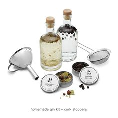 HOMEMADE GIN KIT | make moonshine, alcohol, your own liquor | UncommonGoods - Mike or Michael
