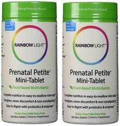 Rainbow Light Prenatal Petite Multivitamin 360 http://10healthyeatingtips.net/rainbow-light-prenatal-petite-multivitamin-360/
