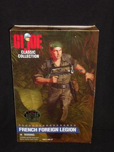 "G.I. GI JOE Classic Collection French Foreign Legion 12"" Figure FREE US Shipping #Hasbro"