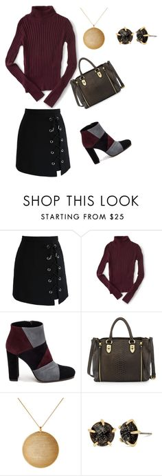 """""""Work day"""" by tiffany-mcnair-caruthers on Polyvore featuring Chicwish, Aéropostale, Roberto Festa, Charles Jourdan, Kenneth Jay Lane and Betsey Johnson"""