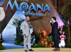 A Pictoral Look at the Moana World Premiere