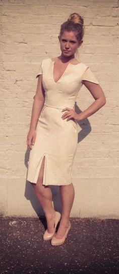 Hybrid Cream Dress
