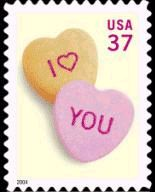 Candy Hearts stamp 2004#Repin By:Pinterest++ for iPad#