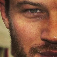 Tom Hardy.  God, he's got gorgeous eyes....