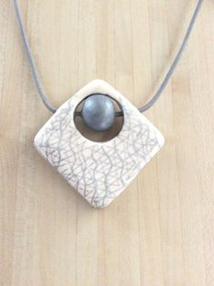 Polymer clay pendant on Etsy €30.00