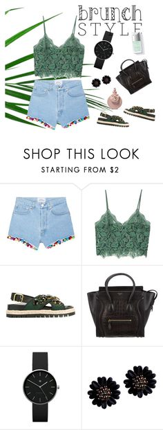 """Brunch goals"" by ginasofi on Polyvore featuring Forte Couture, MANGO, Marni, CÉLINE and Newgate"