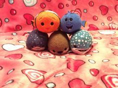 Since Finding Dory came out here's some of the crew! (It's a good movie! Tsum Tsums, Disney Tsum Tsum, Finding Dory, Good Movies