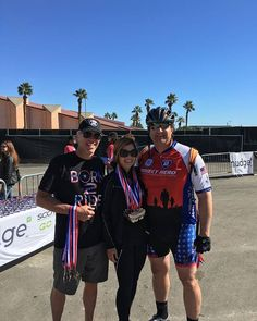 This is Amie and I a few weeks back at the #HonorRide with our friend and hero, Paul Capinas.  He is a Vet now active duty and spends so much of his free time supporting #veterans programs like #Ride2Recovery #GreatGuy #friends