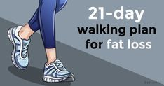 21-day walking plan that will help you lose weight #Walkingforweightloss